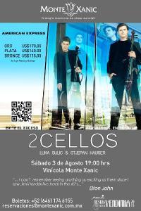 2 Cellos en Monte Xanic
